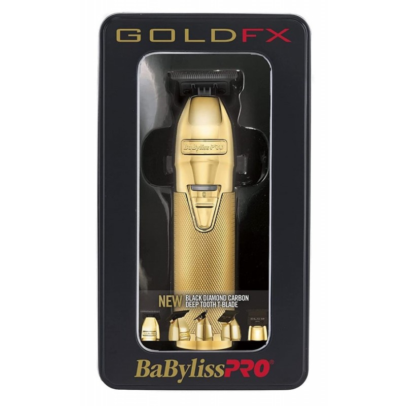 #FX787GDB BabylissPro Gold Lithium Outliner Trimmer w/DLC blade