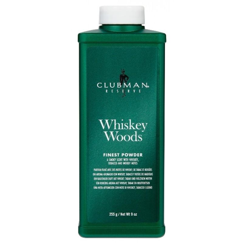Clubman Reserve Whiskey Woods Powder 9oz