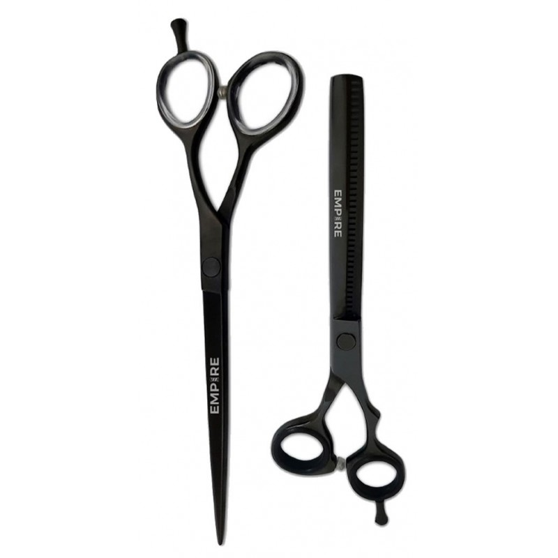 #EMP1210/1301  Black Barber Shear Combo