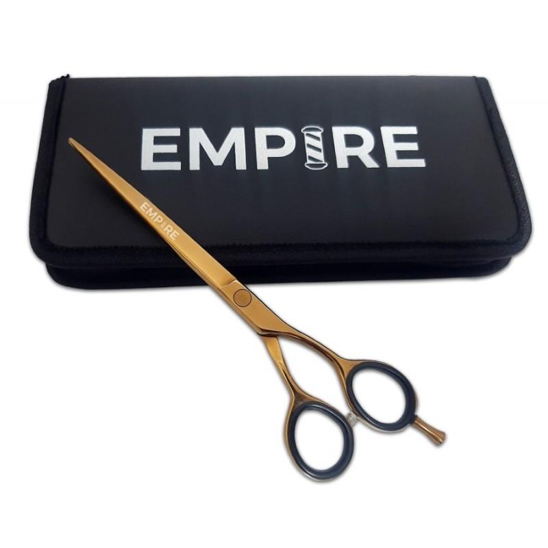 """#EMP1200  7"""" Gold Barber Shear"""