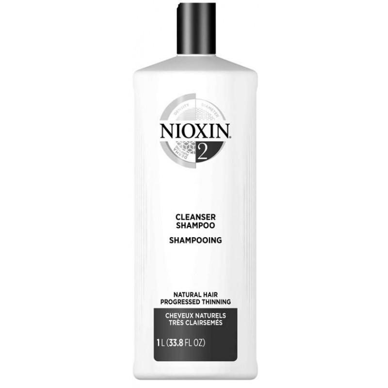 Nioxin System 2 Cleanser 33.8 oz
